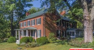 """""""Gravel Springs Farm"""" is a late Federal style brick farmhouse built in 1836. It ..."""