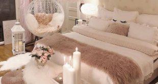 27 Kleine Schlafzimmer Ideen Dekor, um größer aussehen zu lassen