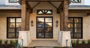 30+ Moderne Bauernhaus-Außengestaltung - #BauernhausAußengestaltung #modern #m...