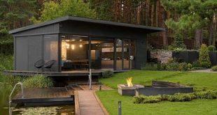 35 Atemberaubende Ideen für modernes Containerhausdesign für ein komfortables Leben jeden Tag
