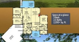 61 Trendy ideas house plans 2000 sq ft craftsman