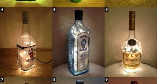 Alcohol Bottle Lamps - Christmas Xmas Gift Christmas Present