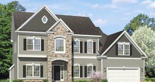 Colonial Exterior - Front Elevation Plan #1010-154 - Houseplans.com