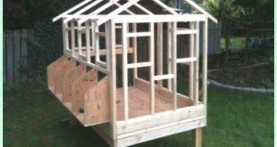DIY Holz Hühnerstall Kostenlose Pläne