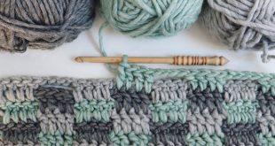Free Crochet Pattern Rustic Farmhouse Style Basket - Lauren Nelson