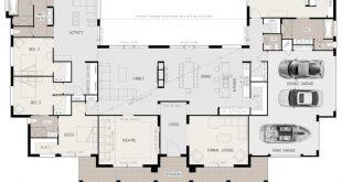 Grundriss Freitag: U-förmiges Familienhaus mit 5 Schlafzimmern - #Familienhaus ...