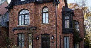 I love the brick and black #architecture #architect #architecturaldes