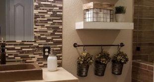 Legende 36 schöne Bauernhaus Badezimmer Dekor Ideen, die Sie verrückt werden