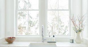 Timeless Tranquil White & Grey Kitchen Tour - #Grey #homedecor #Kitchen #Timeles...
